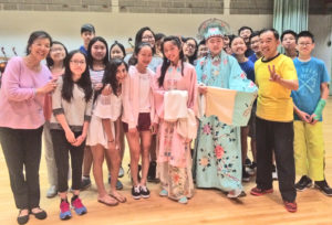 Chinese Opera workshop- Herricks 2