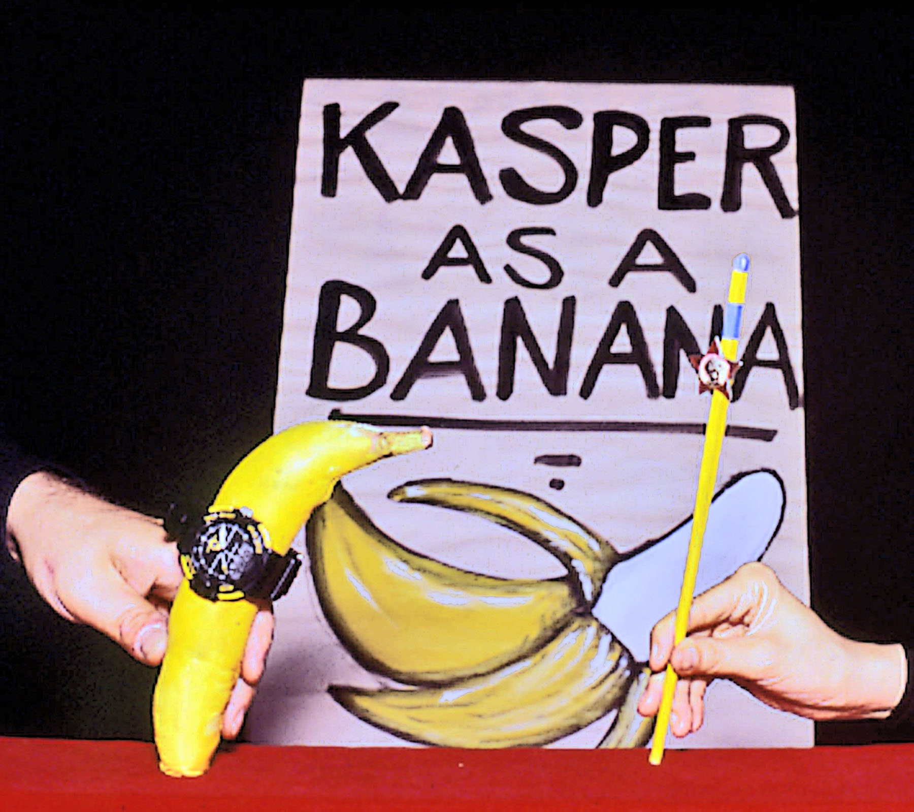 Kasper - with sign